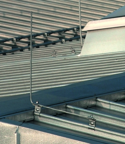 Dachleitungshalter F 252 R Metalld 228 Cher