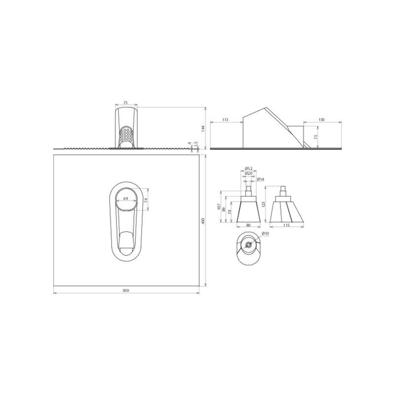 dachdurchf hrungsset 41 56. Black Bedroom Furniture Sets. Home Design Ideas