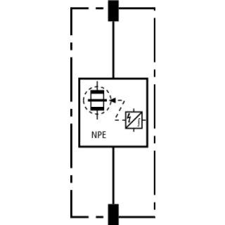 n pe funkenstrecken schutzmodul dv mod npe 50 951050. Black Bedroom Furniture Sets. Home Design Ideas