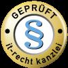 Rechtlich geprüft durch IT-Recht Kanzlei München